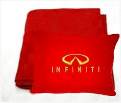 Плед в чехле с логотипом Infiniti