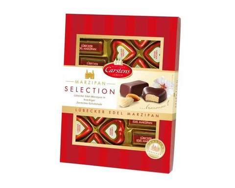 Шоколадные конфеты «Любекский марципан в шоколаде» MarChand, 200 г