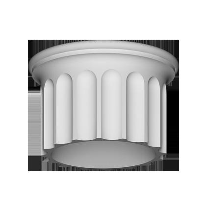 Ствол (колонна) Европласт из полиуретана 4.12.003, интернет магазин Волео