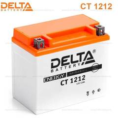 Аккумулятор DELTA 12V 12Ah (CT1212)