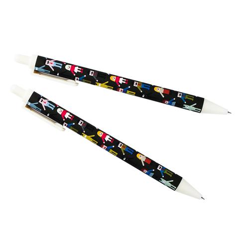 Ручка автоматическая черная Children