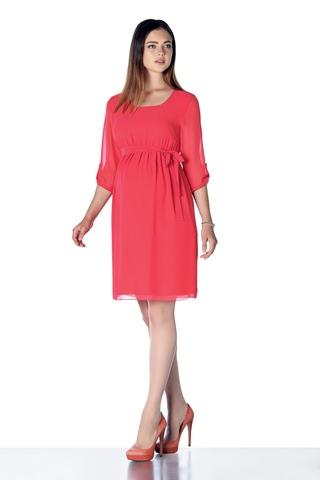 Платье 08287 красный