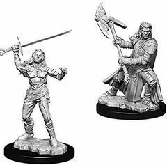 Female Half-Orc Fighter / Полуорочьи воительницы
