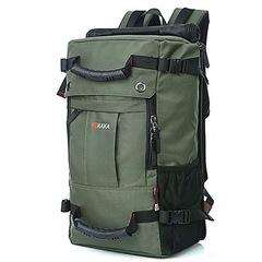 Рюкзак-сумка дорожная для путешествий КАКА 2050 зелёный
