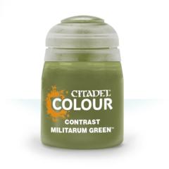 Citadel Contrast: Militarum Green