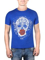 17603-3 футболка мужская, синяя