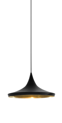 replica Beat Wide pendant lamp (black)