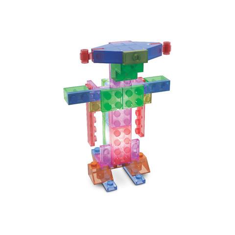Конструктор Laser Pegs «Роботы в футляре» 4 в 1 (200)