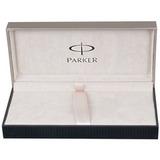 Перьевая ручка Parker Sonnet F530 ESSENTIAL LaqBlack GT перо 18Ct F (S0833860)