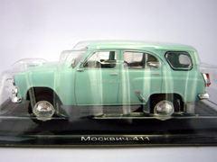 Moskvich-411 light green 1:43 DeAgostini Auto Legends USSR #209