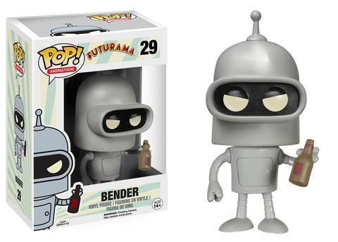 Фигурка Funko POP! Vinyl: Futurama: Bender 5234