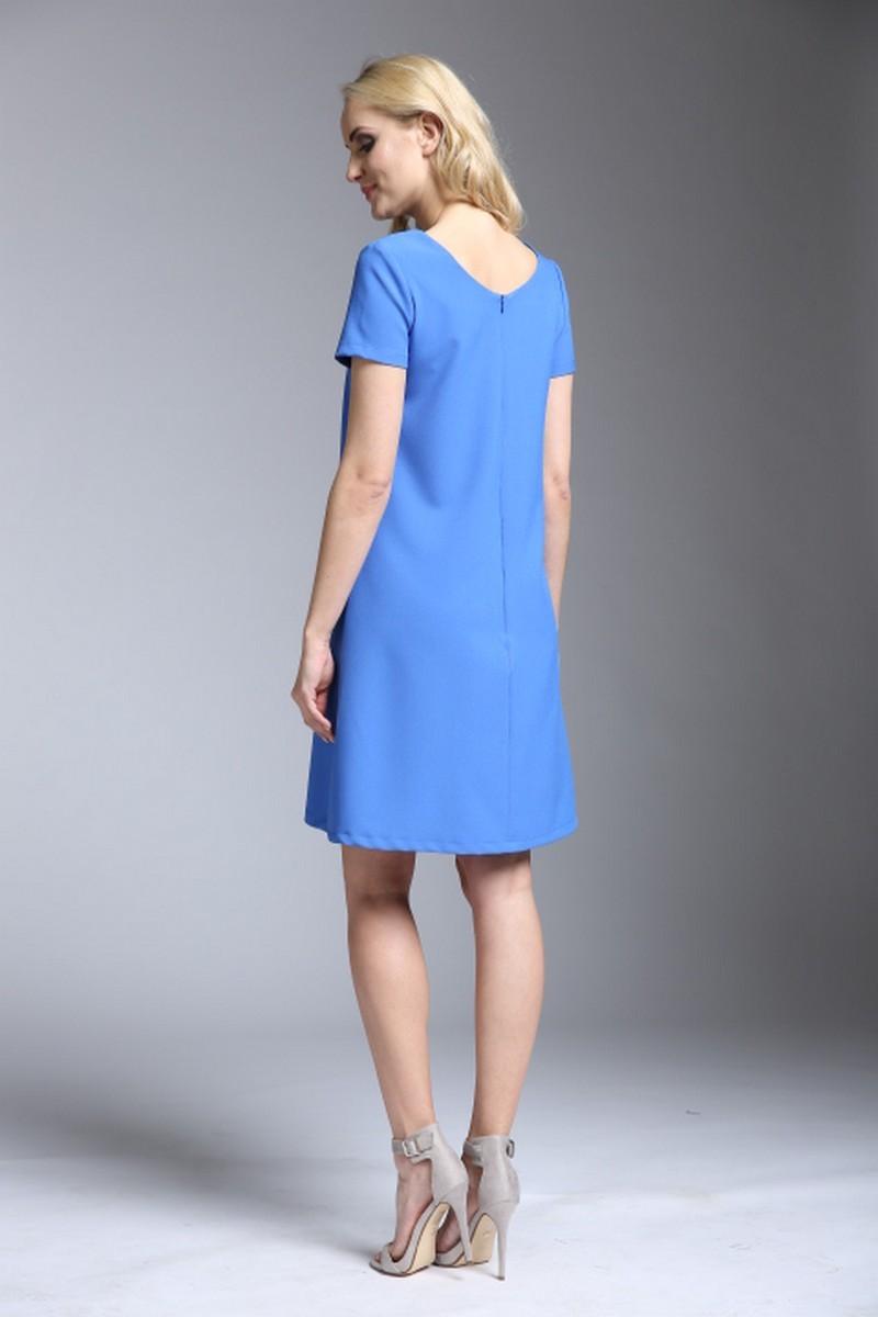 Платье 06149 синий