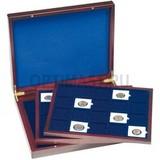 Презентационный кейс VOLTERRA TRIO de Luxe, 3 деревянных лотка на 20 QUADRUM капсул 50x50 mm,