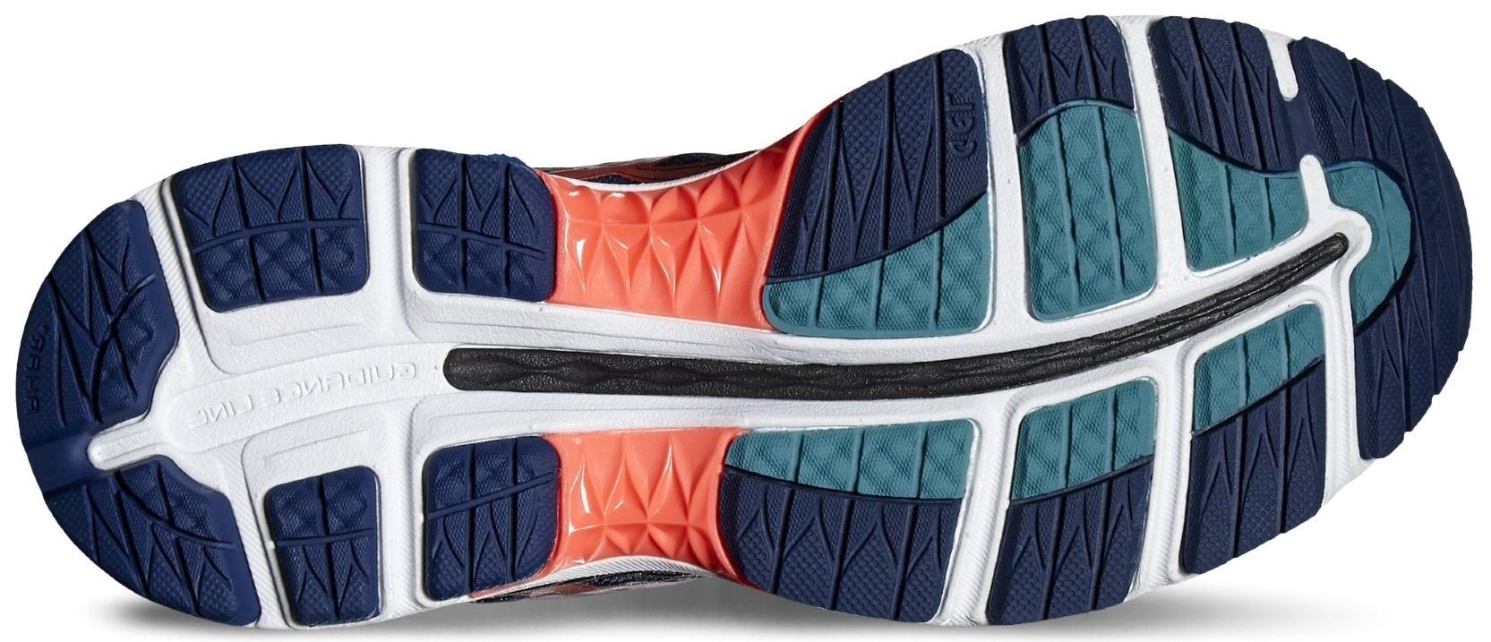 Женские кроссовки для бега Asics Gel-Nimbus 18 T650N 5806 синие фото