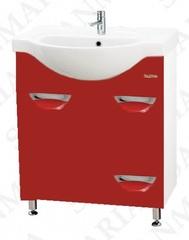 Тумба напольная SanMaria Милан-70, 1 ящик, красная