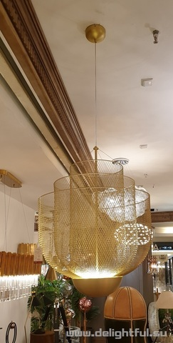 Moooi Meshmatics Chandelier gold replica chandelier