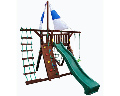 Детская деревянная площадка Фортуна