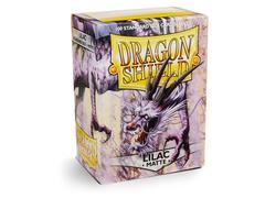 Dragon Shield - Лиловые матовые протекторы 100 штук