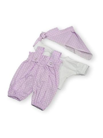 Песочник на резинке - Сиреневый. Одежда для кукол, пупсов и мягких игрушек.