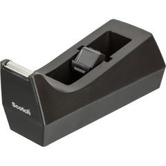 Диспенсер для клейкой ленты канцелярской 3M с-38,черный для Scotch до19мм,