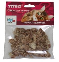 Лакомство для кошек TitBit Легкое говяжье (мягкая упаковка)
