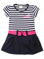 575-1 платье детское, темно-синее