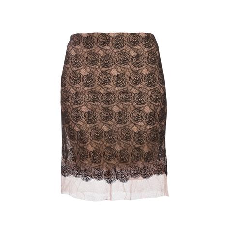 Женственная юбка из роскошного кружева от Chanel, 40 размер.