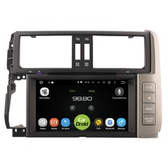Штатная магнитола на Android 8.0 для Toyota Land Cruiser Prado 150 09-14 Roximo CarDroid RD-1114