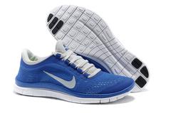 Кроссовки мужские Nike Free Run 3.0 V5  Blue White