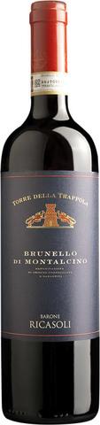 Вино Торре делла Траппола Брунелло ди Монтальчино защ. наим. крас. сух. 0,75 л 14% Италия
