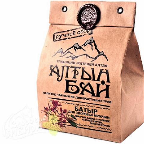 Иван-чай Батыр для здоровья мужчин, АлтынБай 100 г