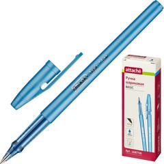 Ручка шариковая Attache Basic 0,5мм маслян.синий Россия