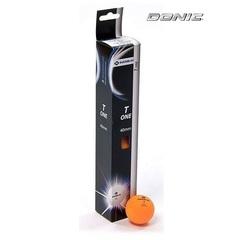 Мяч для настольного тенниса DONIC T-ONE, оранжевый (6 шт)
