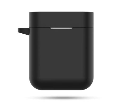 Чехол на Xiaomi Airdots Pro силиконовый (черный)