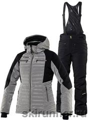 Тёплый горнолыжный костюм Charlie Nougat Poppy Black женский