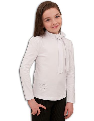13-715-017Т Basia Блузка для девочки трикотажная белая