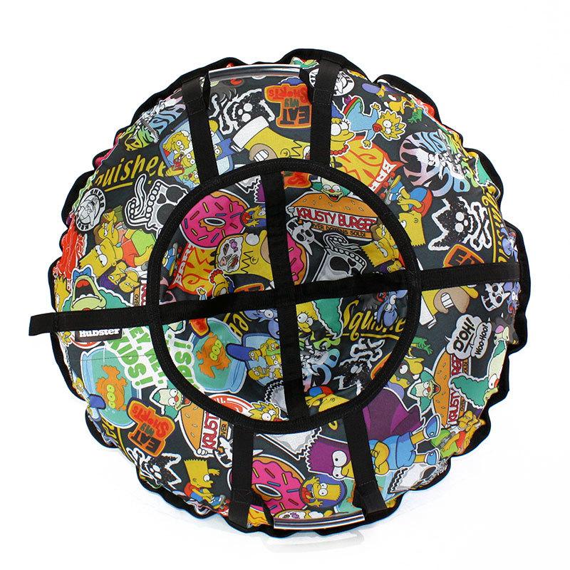 Тюбинг санки-ватрушка Hubster Люкс Pro Симпсоны - Тюбинги, артикул: 931303