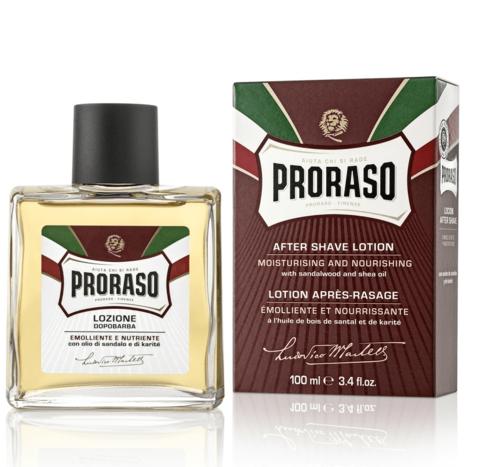 Лосьон после бритья Proraso, сандал, 100мл