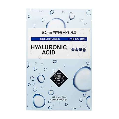 ETUDE HOUSE Маска для лица тканевая c гиалуроновой кислотой 0.2 Therapy Air Mask Hyaluronic Acid Moisturizing