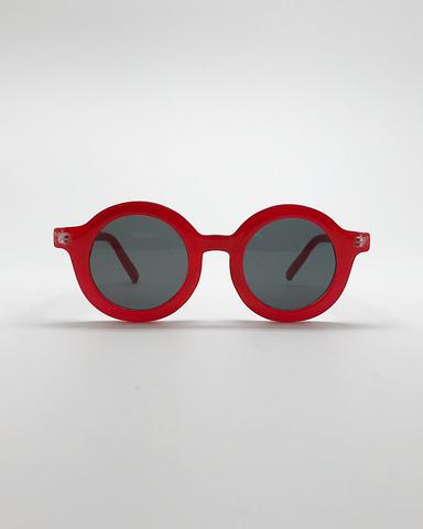 Солнечные очки RETRO красный