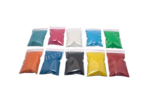 Цветной песок (набор 10 цветов по 70 гр.)