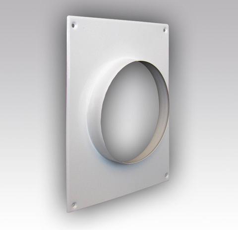 160ПТМ Торцовая площадка стальная 175х236/ф160 без решетки, с полимерным покрытием эмалью