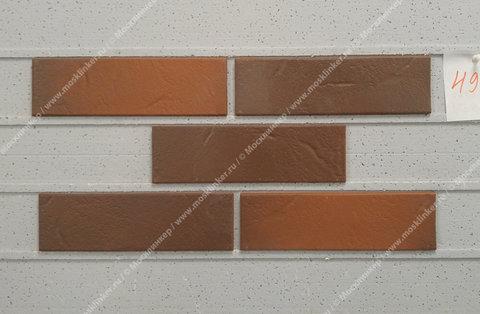 Фасадная плитка ABC, Rotbunt, struktur, 240х71х8, NF