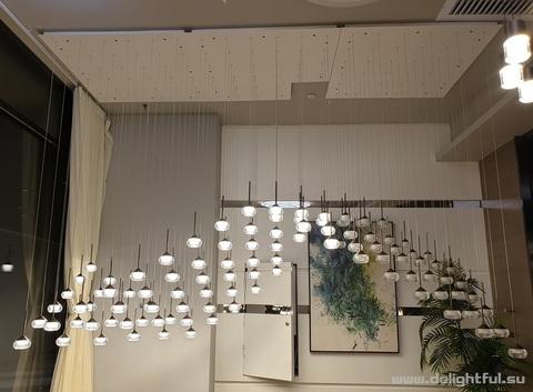 Vibia Algorithme replica chandelier  3