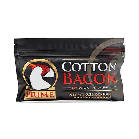 WICK 'N' VAPE Хлопок Cotton Bacon PRIME