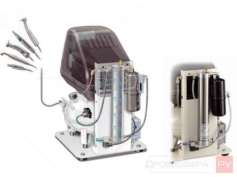 Поршневой компрессор FINI MED 160-24F-FM-1.5M