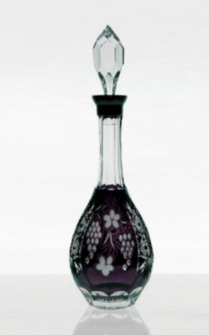 Декантер для вина 750мл Ajka Crystal Grape аметист