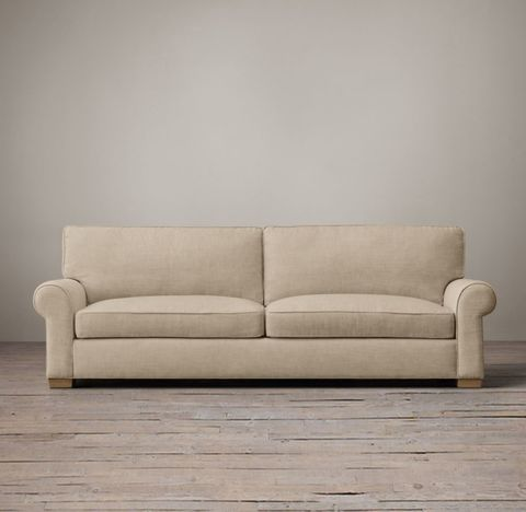 Grand-Scale Roll Arm Sofa