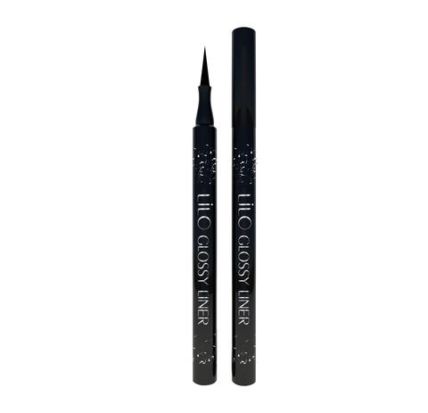 Lilo Подводка-фломастер для глаз Glossy Liner черный