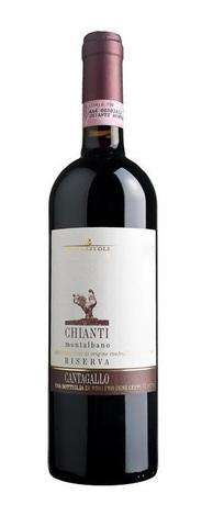 Вино Тенута Кантагалло Кьянти Монтальбано Ризерва геогр. наим. 2011 красное сух. 0,75л  13,5% Италия